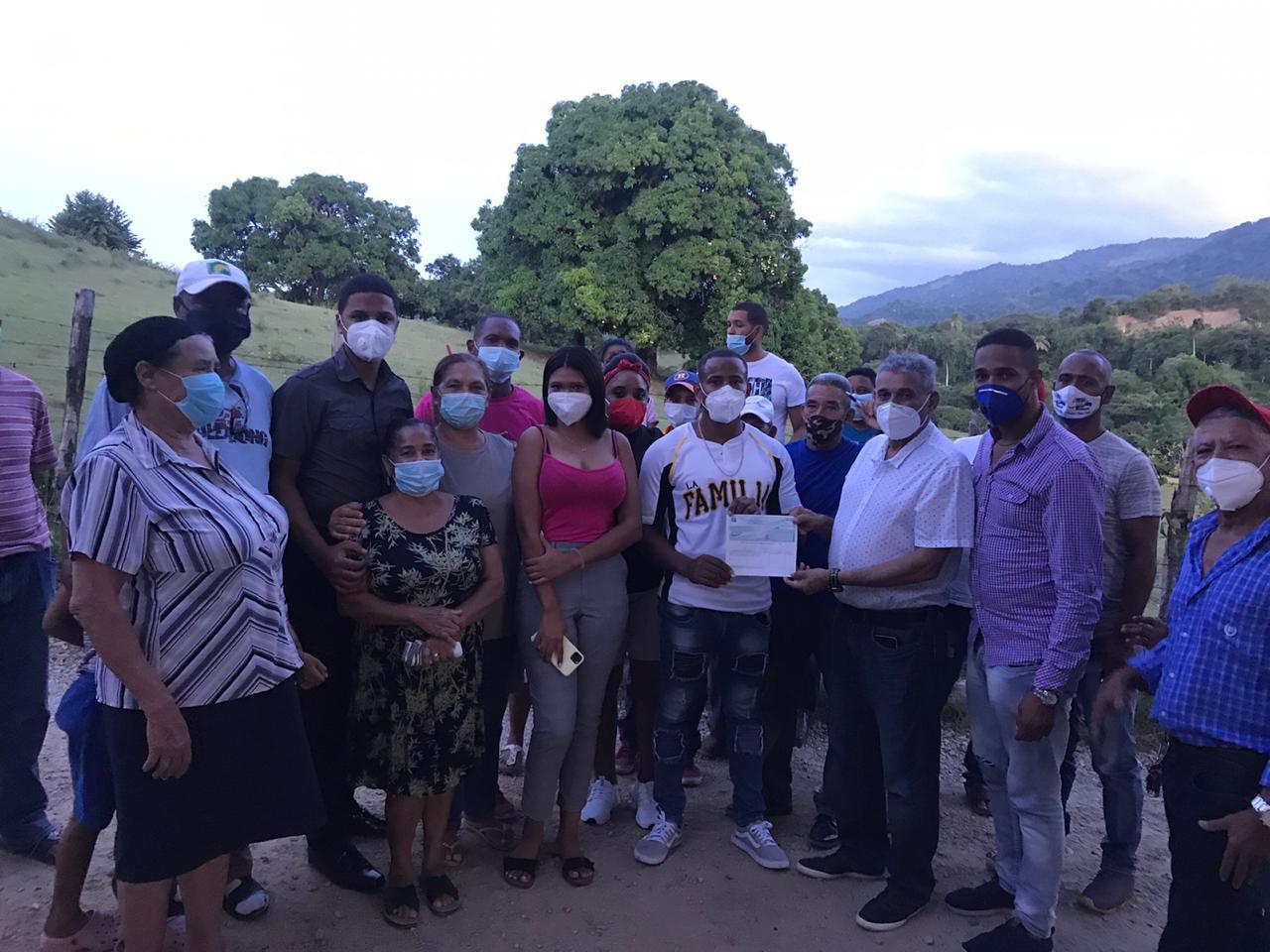 Continúan trabajos de Presupuesto Participativo en el municipio de Los Hidalgos